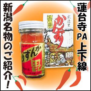 蓮台寺PA上下線 新潟名物のご紹介!
